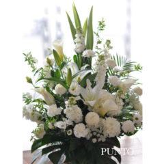 Silver White 供花