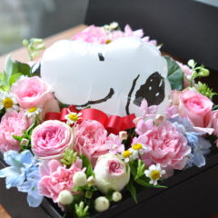 Snoopy Box Flower